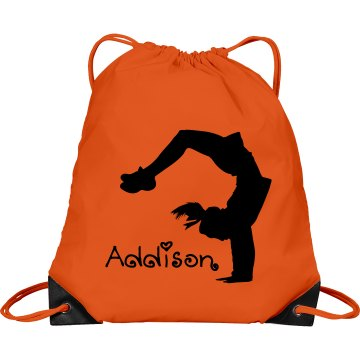 Addison cheerleader bag