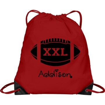 Addison football bag