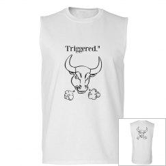 Men's triggered bull Tank Top