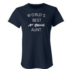 Best at being aunt
