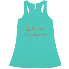 Live your imagination -aqua