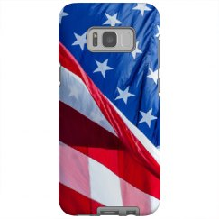 American Flag Galaxy S8 Plus Case