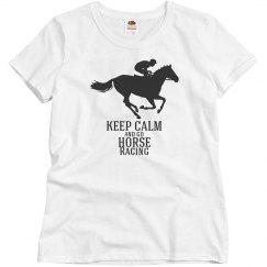 keep calm-go horse racing