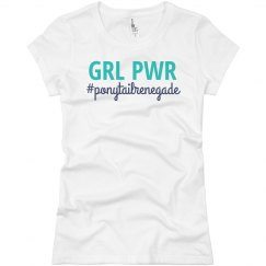 GRL PWR Fitted Tee