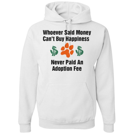 Adoption Fee Sweatshirt