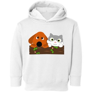 Adorable Cat And Dog Design