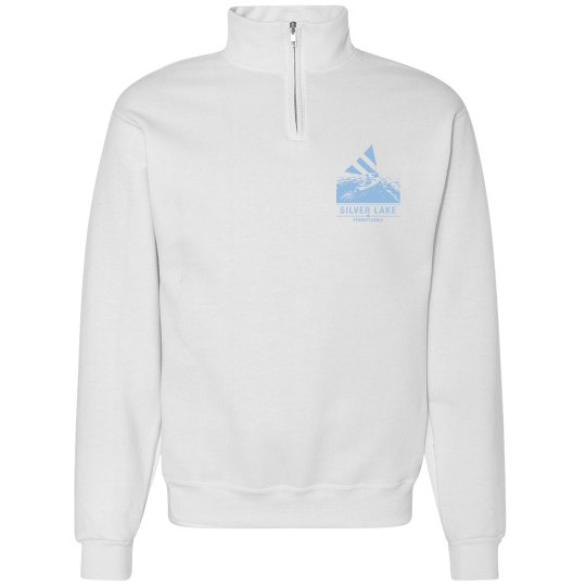 Adult 1/4 zip with Sailboat