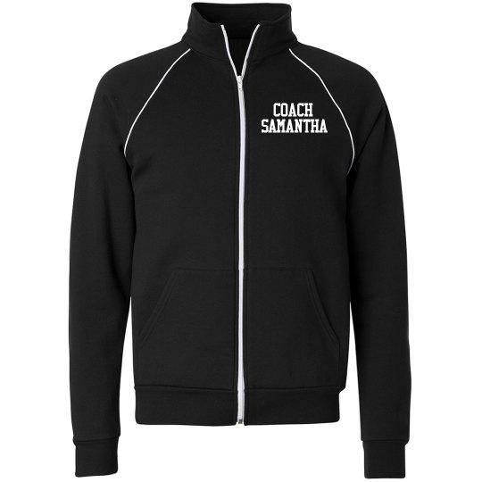 Adult Fleece Track Jacket