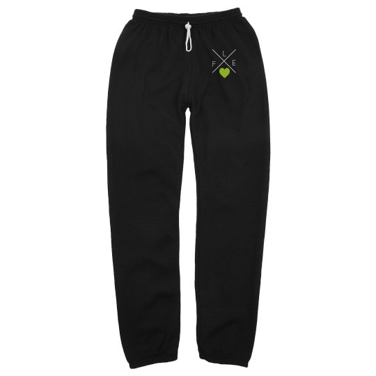 ADULT FLEX Heart Scrunch Sweatpants
