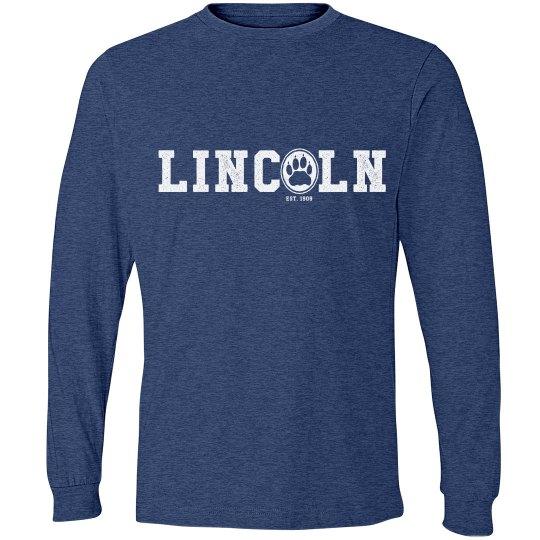 ADULT: Lincoln Long Sleeve Tee