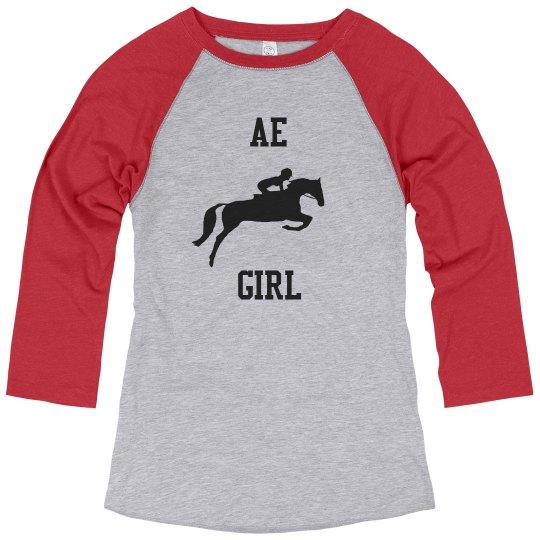 AE Girl Quarter Tee