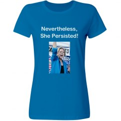 Elizabeth Warren Nevertheless She Persisted