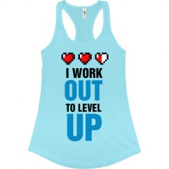 Level Up By Working Out
