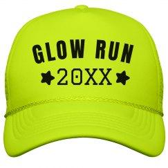 Glow Run Neon Hat
