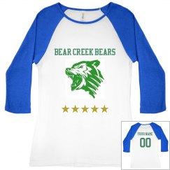 Bear Creek Bears T-Shirt 1