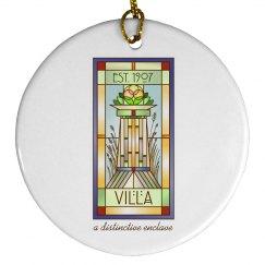 Villa Logo Ornament