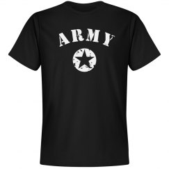Simple Trendy Army Star