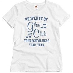 Custom School Glee Club Tee