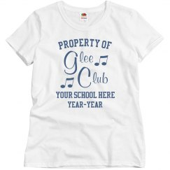 Custom School Glee Club Tee