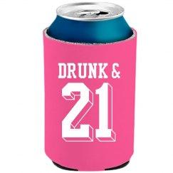 21st Birthday Drunk