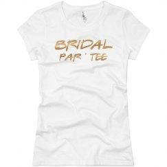 BRIDAL PAR TEE