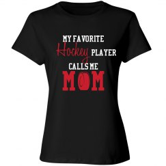 Hockey Mom - Favorite Player