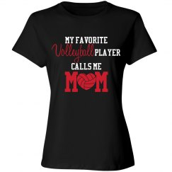 Volleyball Mom - Favorite Player