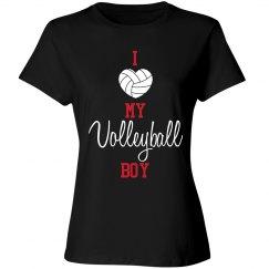 Volleyball Mom - love my boy