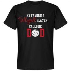 Volleyball Dad - Favorite Player
