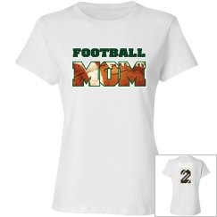 Football Mom - Name and # on back