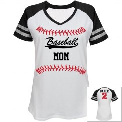 Baseball Mom - Enter name and number on back