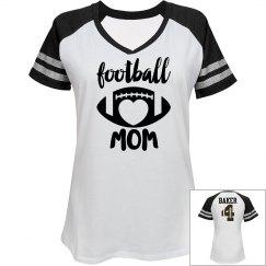 Football Mom - enter name and # on back