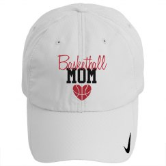 Basketball Mom - heart - HAT