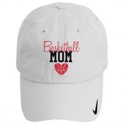 Basketball Mom - heart - HAT