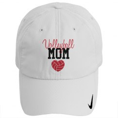 Volleyball Mom - heart - HAT