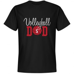 Volleyball Dad - Enter number
