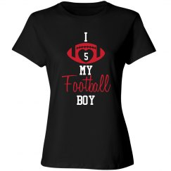 Football Mom/Dad - love my boy - enter number