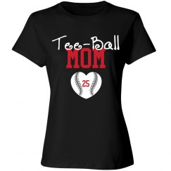 Tee-Ball Mom - enter number