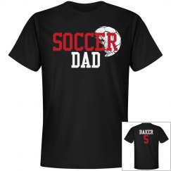 Soccer Dad - Enter name and number on back