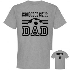 Soccer Dad - Enter name and number on back