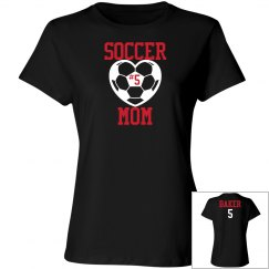 Soccer Mom - Enter name and number