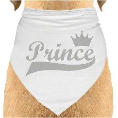 Prince Dog Bandana