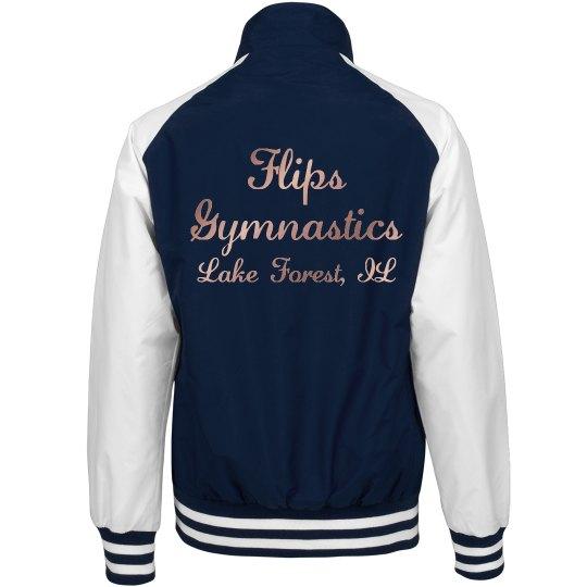 6e865efbb04 Ladies Bomber jacket Ladies Championship Bomber Jacket: FlipWear