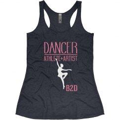 Dancer=Athlete +Artist Tank