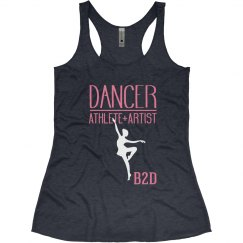 Dancer=Athlete +Artist Tank