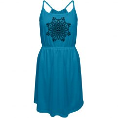 Snowflake Strappy Dress