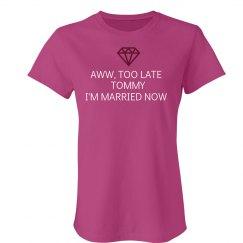 Too Late Tom...