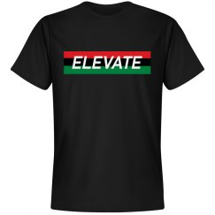 Elevate Tee- Black Hsy Month