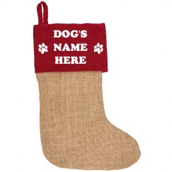 Create A Stocking For Your Dog!