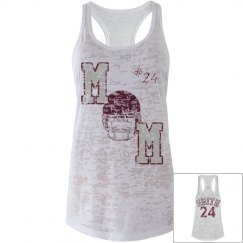Football Mom Tank Maroon